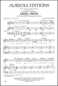 Arise, Shine (Epiphany Canticle)