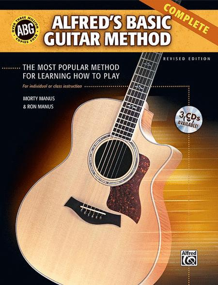 Alfred's Basic Guitar Method, Complete