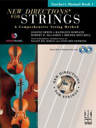 New Directions for Strings (Teacher's Manual Book I)