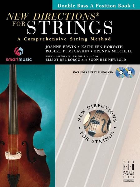 New Directions for Strings (Double Bass A Position Book I)