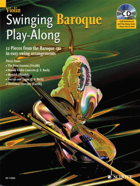 Swinging Baroque Play-Along for Violin