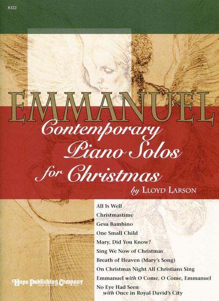 Emmanuel: Contemporary Piano Solos For Christmas