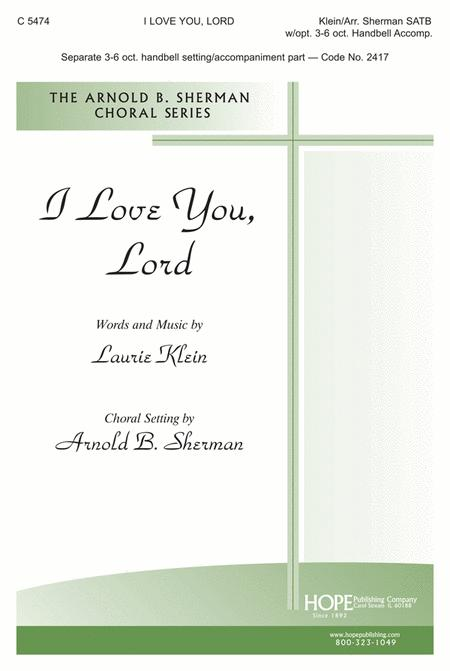 I Love You Lord Sheet Music By Laurie Klein Sheet Music Plus