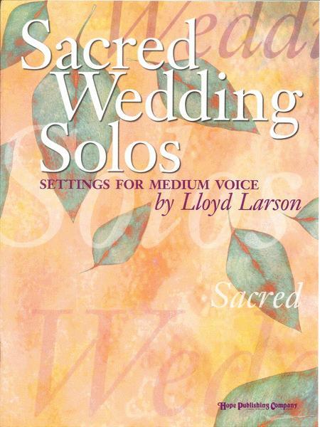 Sacred Wedding Solos