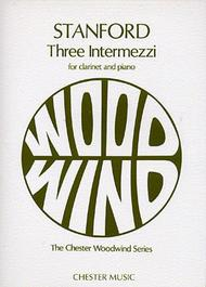 Three Intermezzi for Clarinet and Piano