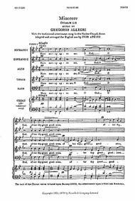 Miserere (Psalm LI)