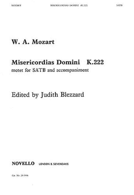 Misericordias Domini K.222