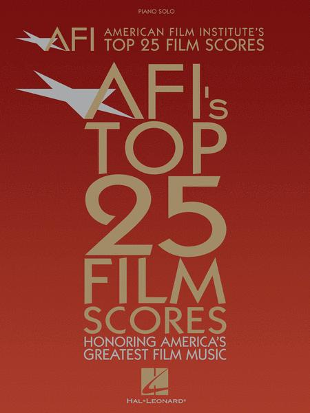 American Film Institute's Top 25 Film Scores