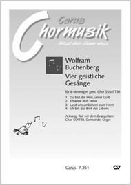 Buchenberg: Vier geistliche Gesange