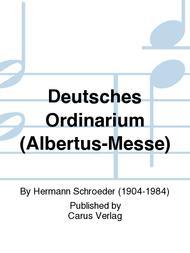 Deutsches Ordinarium (Albertus-Messe)