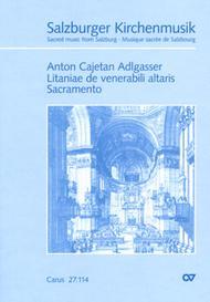 Litaniae de venerabili altaris Sacramento