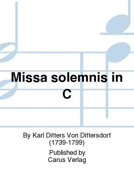Missa solemnis in C