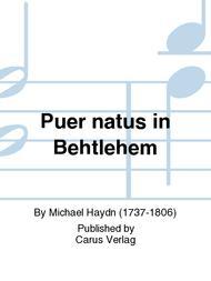 Puer natus in Behtlehem
