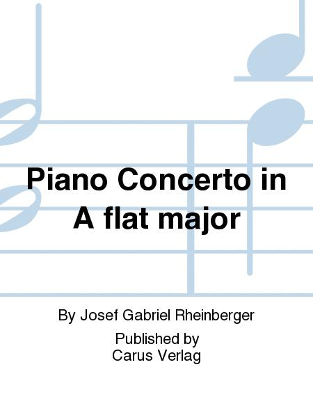 Piano concerto in A flat major (Klavierkonzert in As)