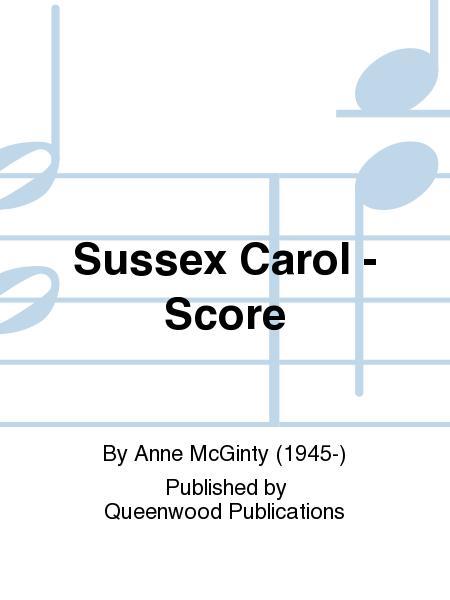 Sussex Carol - Score