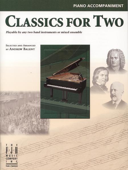 Classics for Two, Piano Accompaniment
