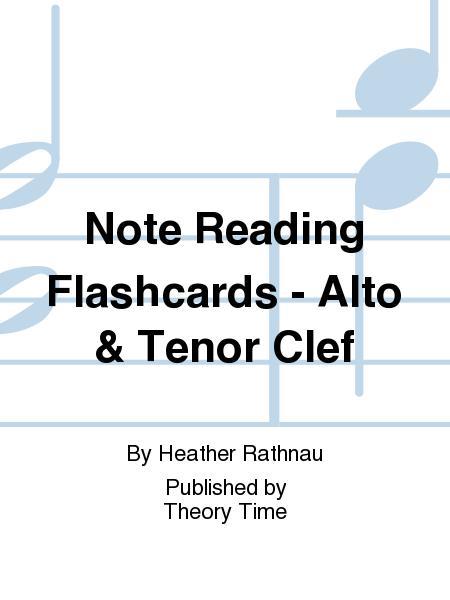 Note Reading Flashcards - Alto & Tenor Clef