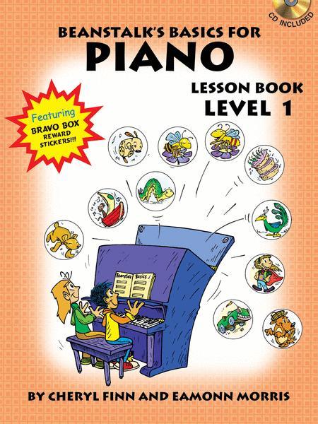 Beanstalk's Basics for Piano - Lesson Book 1 (Book/CD)