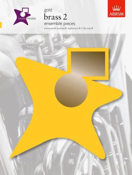 Music Medals Gold Brass 2 Ensemble Pieces