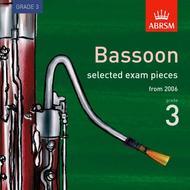 ABRSM Bassoon Exam Pieces 2006 Grade 3 CD
