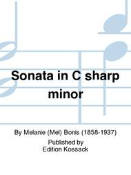 Sonata in C sharp minor