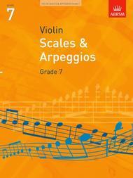 Violin Scales and Arpeggios Grade 7