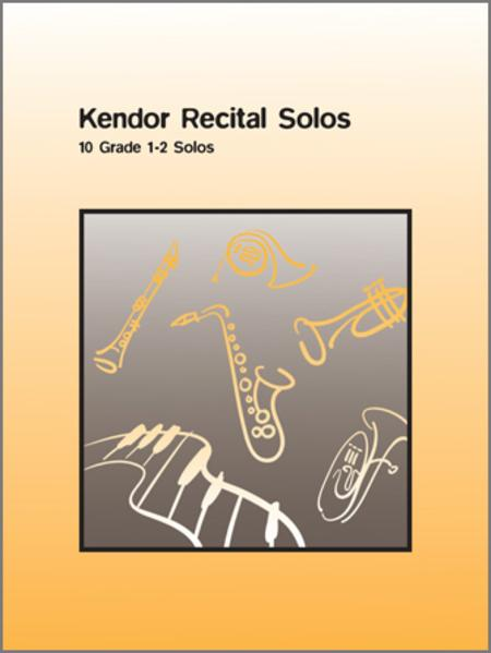 Kendor Recital Solos - Horn In F (Solo Book with CD)