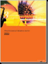 Three Dixieland for Saxophone Quartet (CD included)
