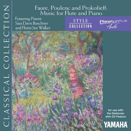 Faure, Poulenc and Prokofiev - Music for Flute and Piano
