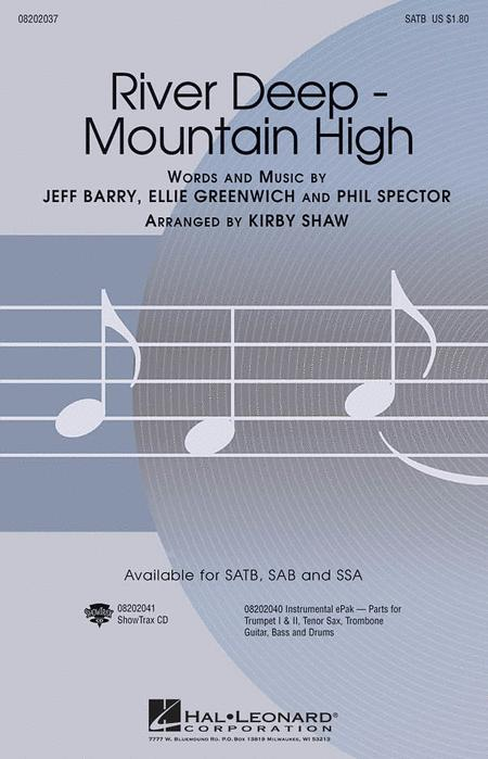 River Deep - Mountain High - ShowTrax CD