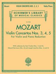 Violin Concertos Nos. 3, 4, 5