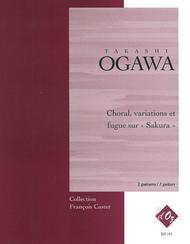 Choral, variations et fugue sur