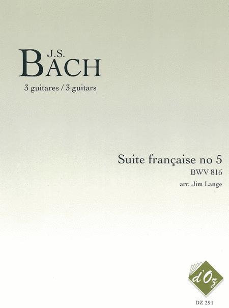 Suite francaise no 5, BWV 816