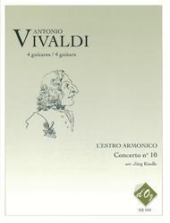 L'Estro Armonico, Concerto no 10, RV 580