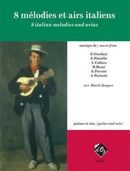 8 melodies et airs italiens