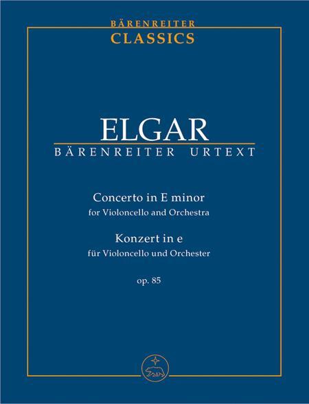 Concerto for Violoncello and Orchestra e minor, Op. 85