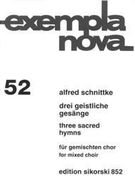 3 Geistliche Gesange (3 Sacred Hymns)