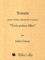 Sonate pour violon, clarinette et piano (