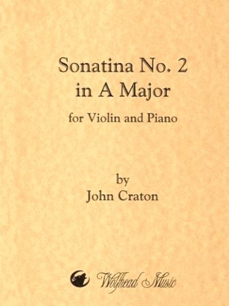 Sonatina No. 2 in A Major for Violin and Piano
