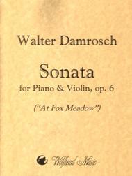 Sonata for Piano and Violin (