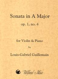 Violin Sonata in A Major, op. 1, no. 4