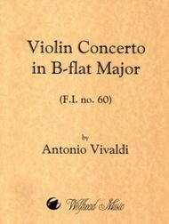 Violin Concerto in B-flat Major, F.I. no. 60
