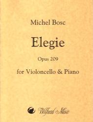 Elegie for Violoncello and Piano