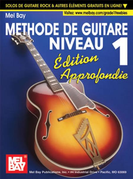 Modern Guitar Method Grade 1, Expanded Edition - French Edition