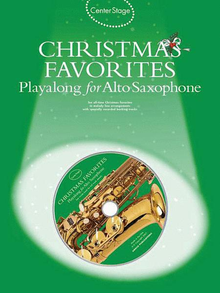 Christmas Favorites - Playalong for Alto Sax