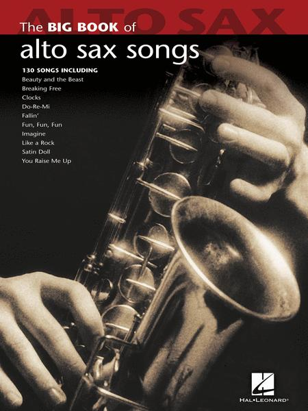 Big Book of Alto Sax Songs