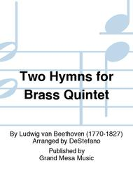 Two Hymns for Brass Quintet