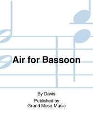 Air for Bassoon
