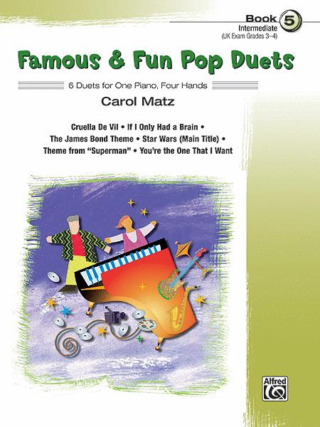 Famous & Fun Pop Duets, Book 5
