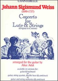 J.S. Weiss: Concerto for Lute & Strings (guitar & keyboard duo)